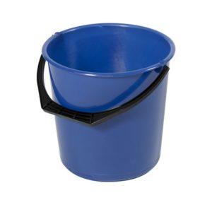 Bøtte plast 10L blå