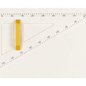 Tavlevinkel WISSNER 60 grader 50cm