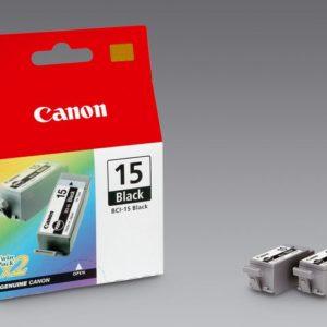 Blekk CANON BCI-15BK sort (2)