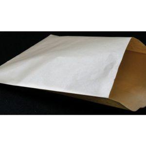 Papirpose kraft flat 190x240mm bru(1000