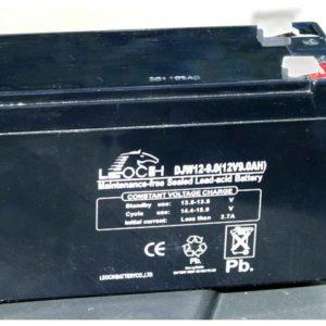 Batteri for motorscrubber