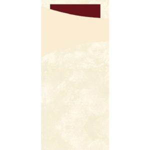 Sacchetto DUNI 2L 33cm vanilje/rød (100
