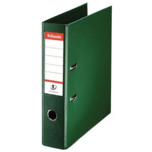 Brevordner ESSELTE No1 A4 75mm sk grønn
