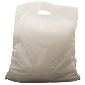 Bærepose plast 45x45x4cm 40my 15L (500)