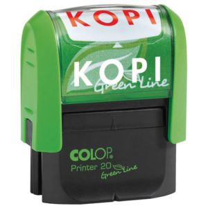 Stempel COLOP GL Printer 20/L kopi rød
