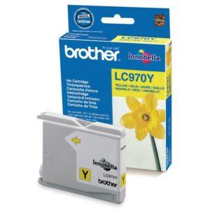 Blekk BROTHER LC970Y gul