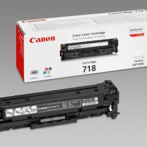 Toner CANON 718BK 3.4K sort
