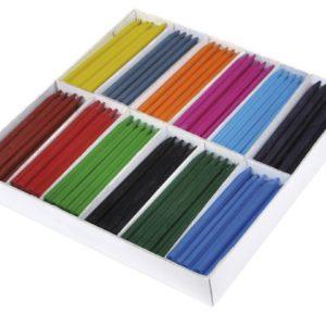 Plastkritt 25x12 farger (300)