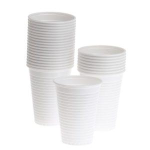 Beger plast økonomi 21cl hvit (100)