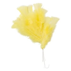 Påskefjær gule (48)