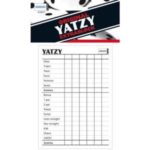 Spill Yatzy-blokk