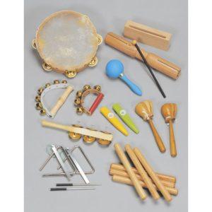 Rytmesett 16 instrumenter