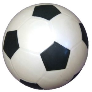Fotball plast  Ø19cm 180g
