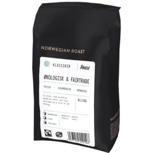 Kaffe FRIELE Øko&Fairt hel bønn 500g