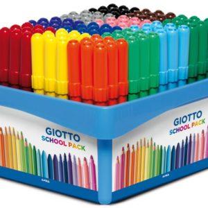 Fiberpenn GIOTTO 12 farger (108)