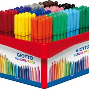 Fiberpenn GIOTTO 12 farger (144)
