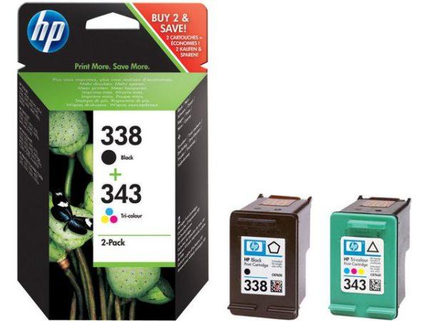 Blekk HP 338/343 SD449EE  (2)