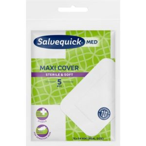Plaster SALVEQUICK Maxi Cover 76x54mm(5