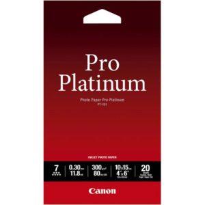 Fotopapir CANON PT-101 Pro Plat10x15(20