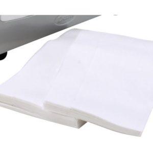 Dispenserserviett DUNI 1L33cm hvit(4500