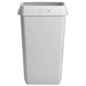 Papirkurv KATRIN plast 25L hvit