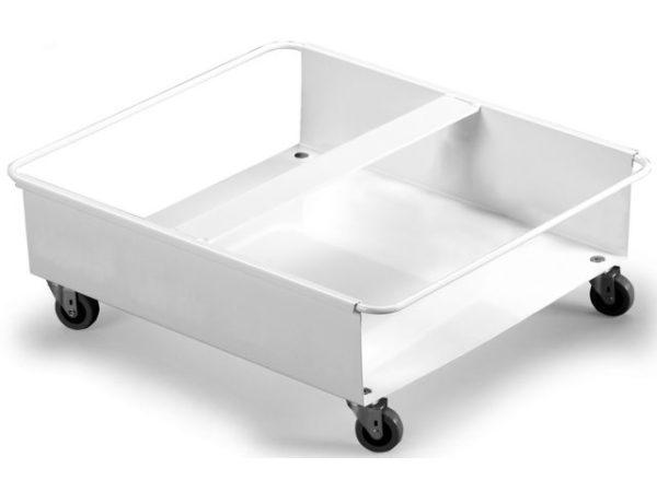 Vogn for 2stk avfallsbeholder 60L