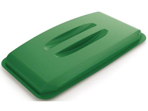 Lokk til avfallsbeholder 60L grønn