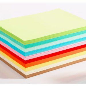 Farget papir 110g A4 lyse frg ark(1000)