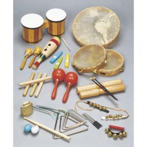 Rytmesett 25 instrumenter