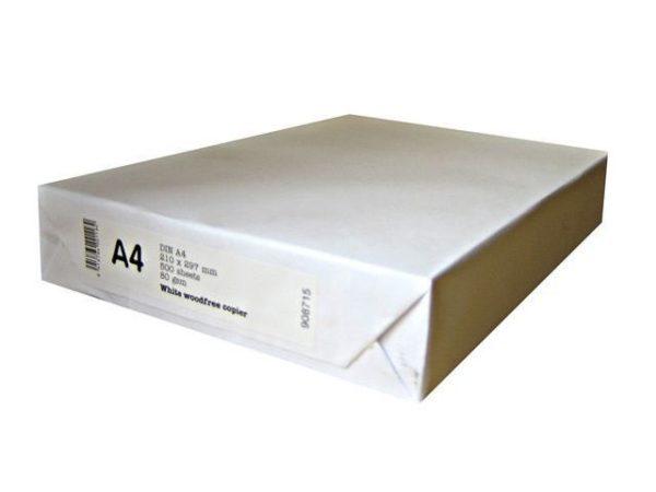 Kopipapir Nøytralt A4 80g (500)