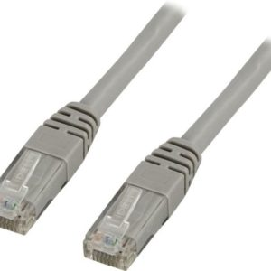 Kabel DELTACO nettverk Cat6 10m grå