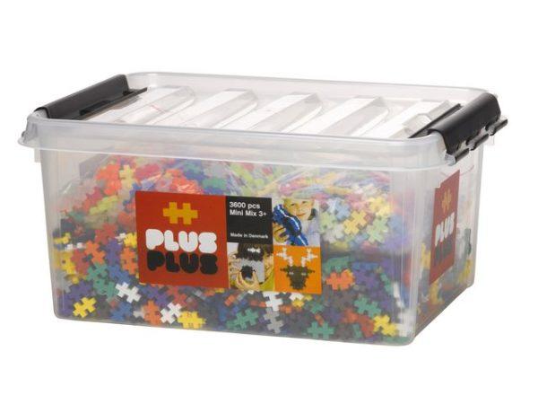 Miniklosser PLUS PLUS mix (3600)