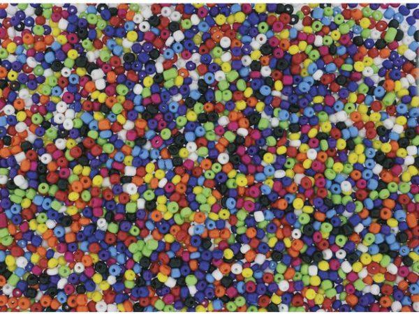 Glassperler rocailles 500g 5-6mm