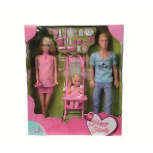 Dukkefamilie 29cm og 12cm (3)
