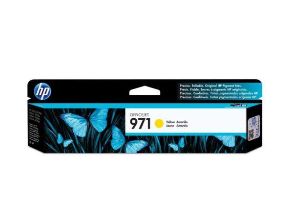 Blekk HP 971 CN624AE gul