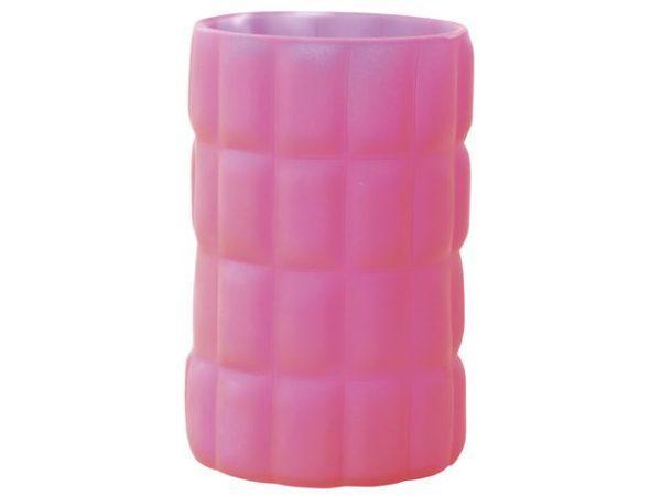 Lysholder DUNI glass scacchi rosa (6)