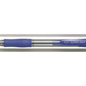 Kulepenn PILOT Supergrip M blå