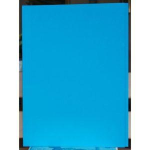 Aktomslag A4 dobbel m/kant blå