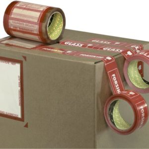 Pakkseddeltape SCOTCH med lim 330