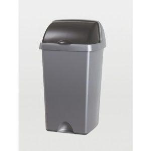 Avfallsdunk ADDIS med rullelokk 24L søl