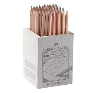 Blyant FABER-CASTELL HB upolert (100)