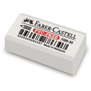 Viskelær FABER-CASTELL 7086 hvit (30)