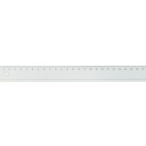Linjal plast 20cm (10)