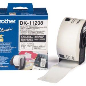 Etikett BROTHER DK-11208 ad 38x90mm(400