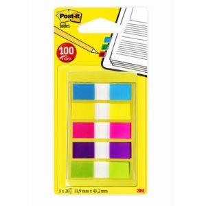POST-IT Index 683-5 i dispenser 5 fargr