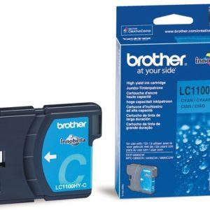Blekk BROTHER LC1100HYC blå