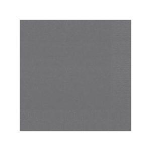 Serviett DUNI 3L 33cm granitt grå (125)