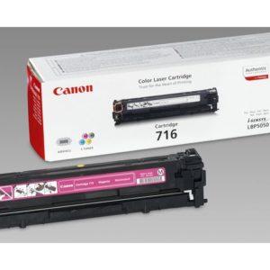 Toner CANON 716M LBP5050 rød