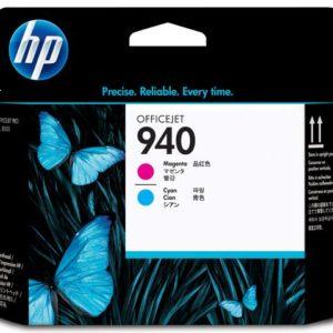 Skrivehode HP C4901A serie 940 blå/rød
