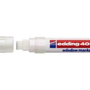 Merkepenn EDDING 4090 kritt 4-15mm hvit